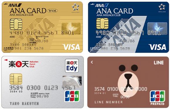 ANAマイレージがお得に貯まるカード