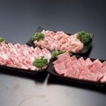 都城市 宮崎牛Mの国黒豚焼肉セット