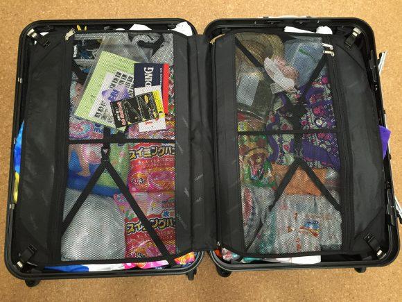 子連れハワイ旅行 スーツケース