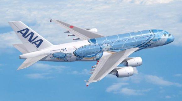 ANA A380-800(388) フライング・ホヌ
