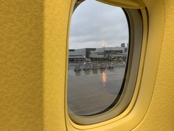 ANAファーストクラス 2018年 NH174(成田~ヒューストン) ヒューストン国際空港 到着
