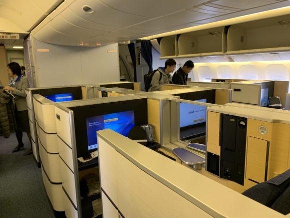 ANAファーストクラス 2018年 NH174 (成田~ヒューストン) 搭乗4