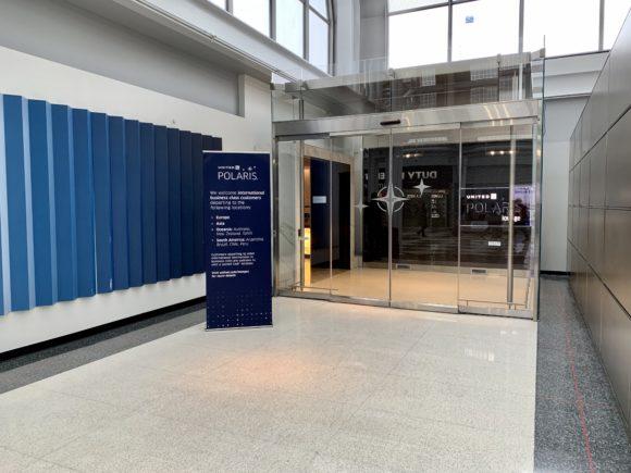 ユナイテッド・ポラリス・ラウンジ シカゴ・オヘア空港 エントランス