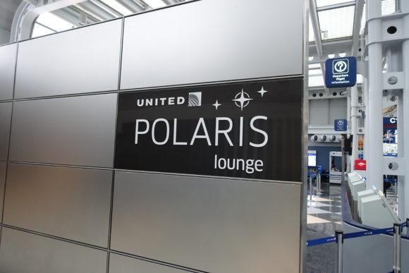 ユナイテッド・ポラリス・ラウンジ シカゴ・オヘア空港